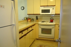Upgraded Kitchen includes a new refrig