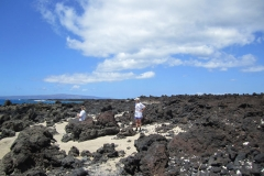Enjoy walking through the Lava field south of Makena