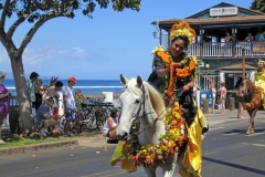 Annual parade in Lahaina