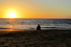 This could be you! enjoying a beautiful sunset on Kamaole ll Beach