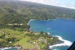 Driving the Maui coast line to Hana