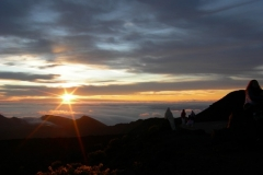 Enjoy watching the sun rise for another awesome Mt Haleakala morning sunrise