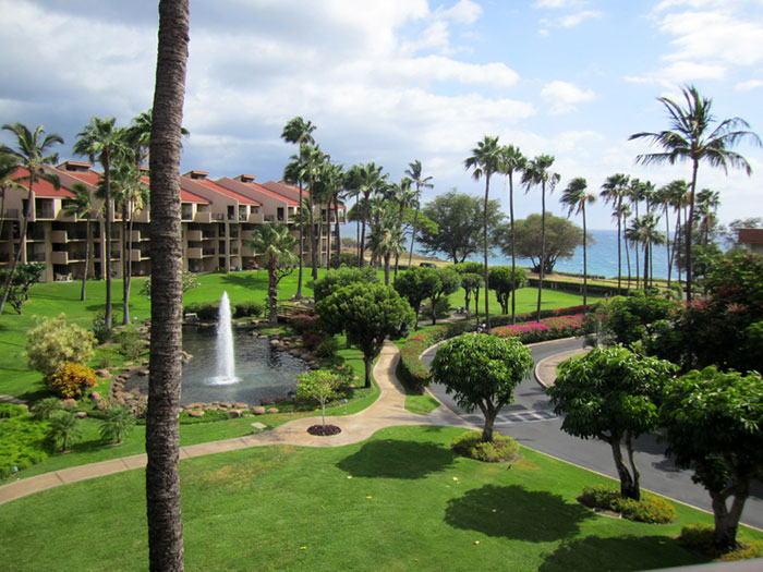 Kamaole Sands resort is directly across from Kamaole III Beach and Park considered one of Maui's very best