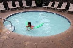Kiddie wading pool